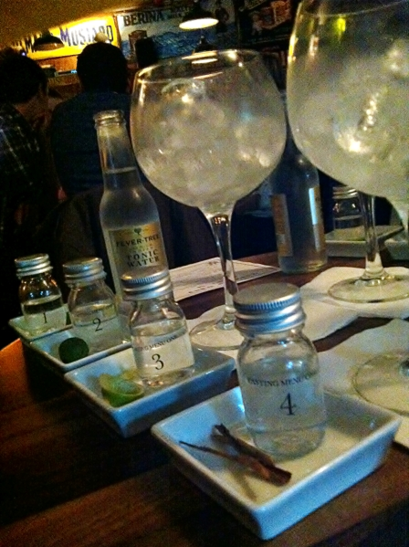 London Gin Club Tasting