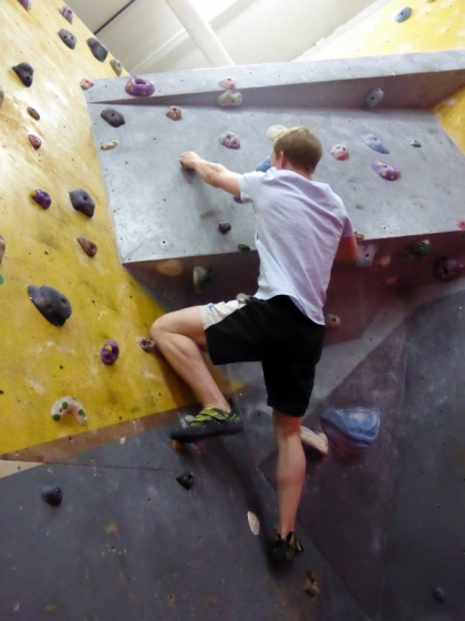 The Arch Climbing Wall
