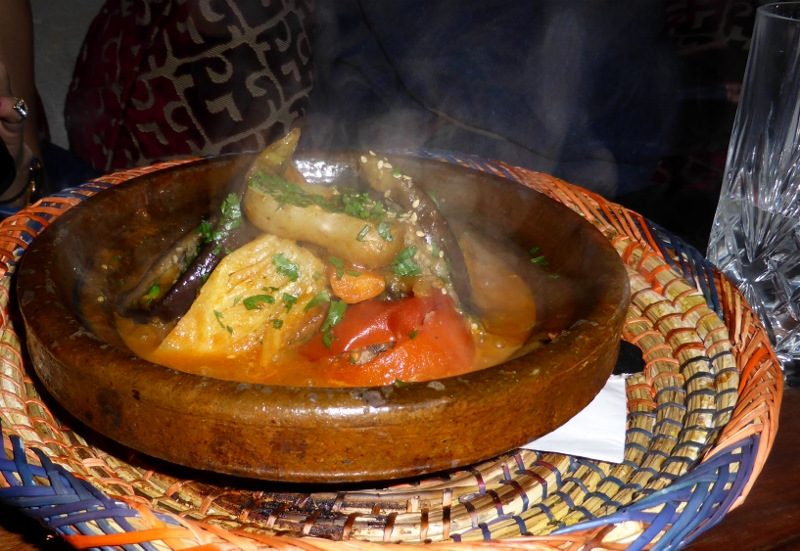 Smokin' vegetable tagine.