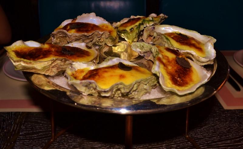Bob Bob Ricard Parmesan Oysters