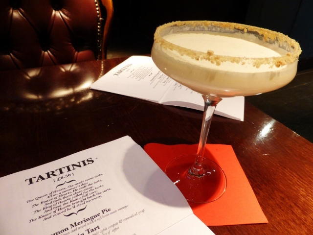 Tart Bar Clerkenwell New York Cheesecake Cocktail Tartini