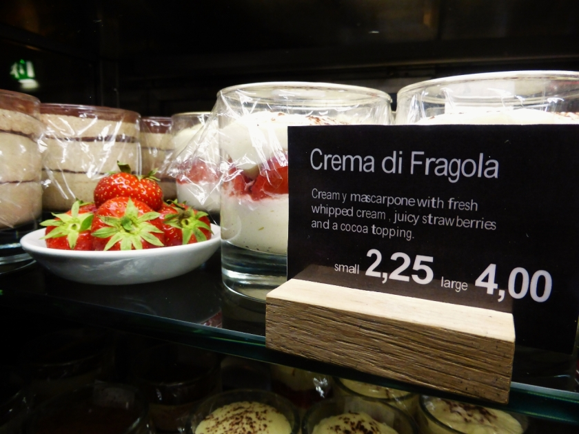 Vapiano desserts