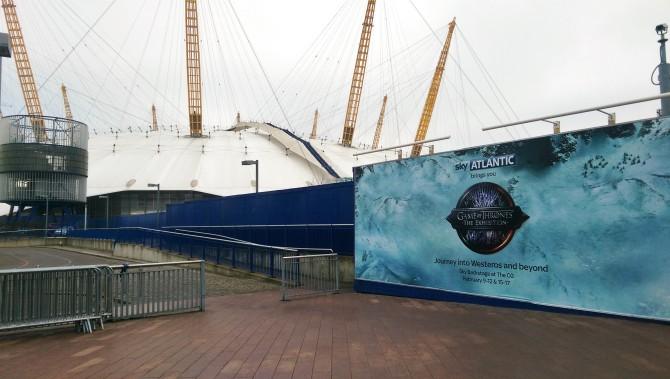 Game of Thrones Exhibition exhibit London