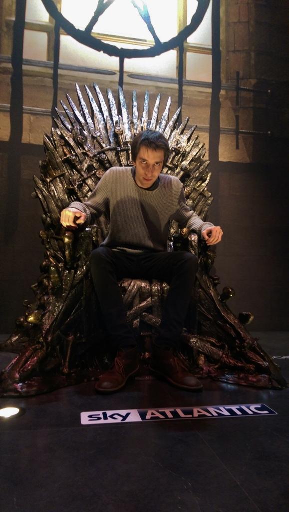 James 1 was more Nicholas Cage than Goffrey Baratheon, but menacing nonetheless...
