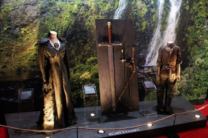 Game of Thrones Exhibition exhibit London