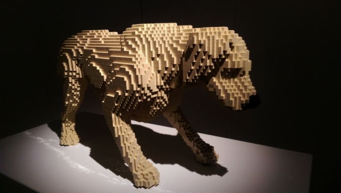 The Art of the Brick exhibition review London