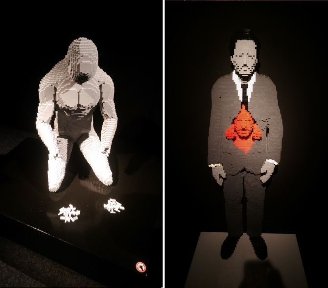 The Art of the Brick exhibition London review