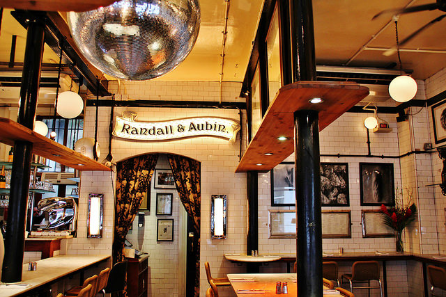Randall and Aubin restaurant review Ed Baines