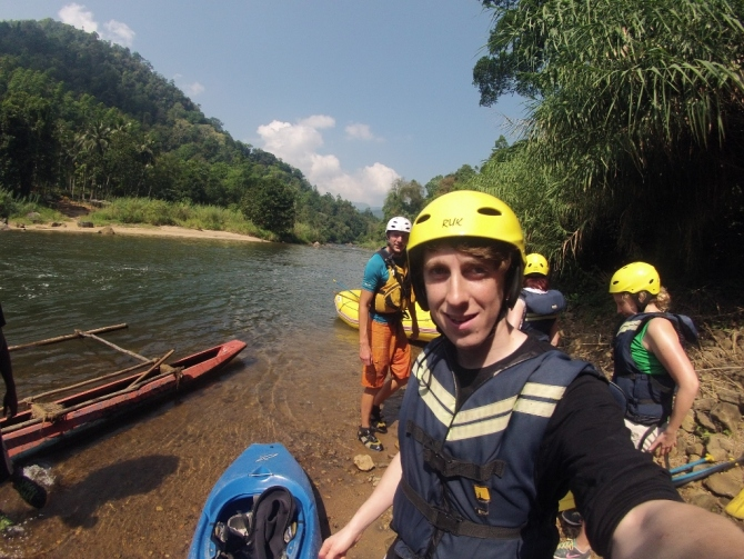 Kitulgala Borderlands white water rafting