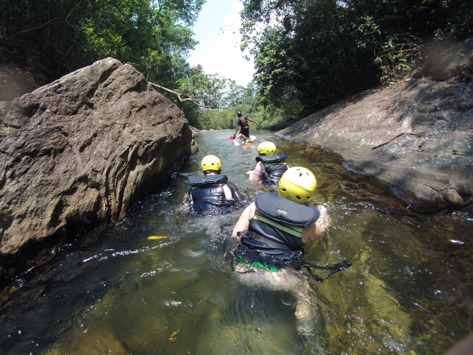 Sri Lanka Borderlands canyoneering white water rafting