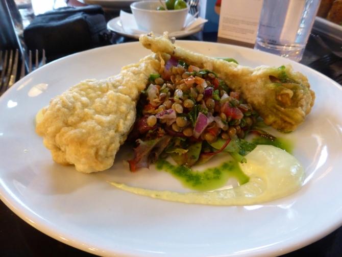 The Gate vegetarian restaurant review