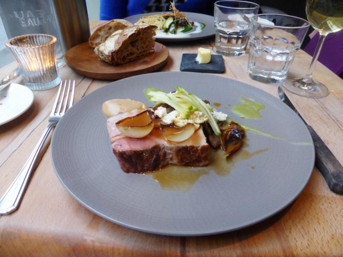 Arbutus Soho Bookatable restaurant review