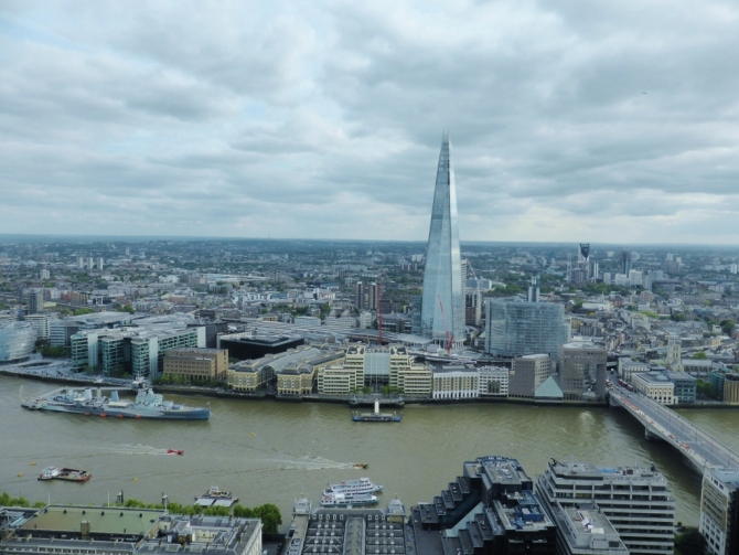 20 Fenchurch Street Sky Garden London restaurant review