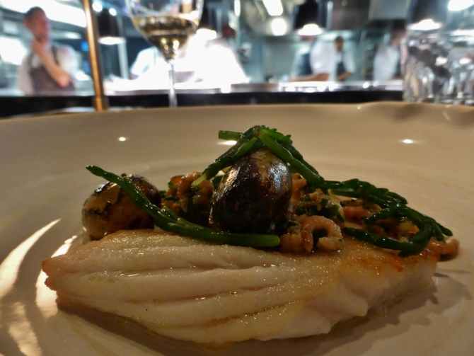 Social Eating House Chef's Table Blind Pig Soho restaurant review