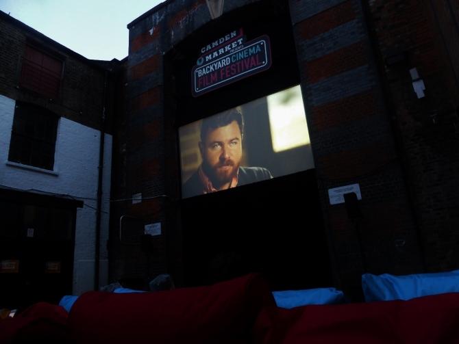 Beer truck BYC Backyard Cinema Camden review