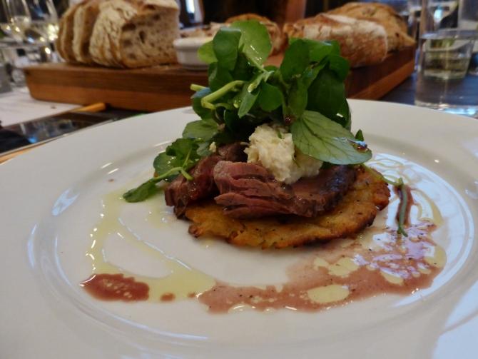 Vinoteca Marylebone Seymour Place bavette steak