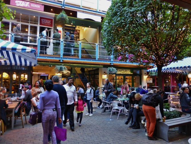 Kingly Court restaurants London Food Tour 2015