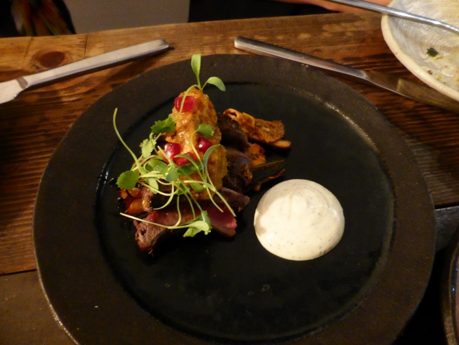 Kricket POP Brixton clove-smoked wood pigeon