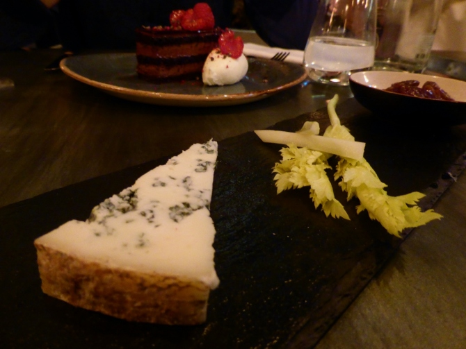 Bandol restaurant Hollywood Road Chelsea blue cheese